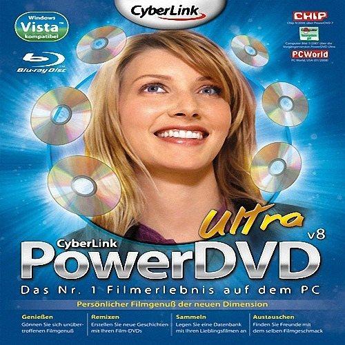 Cyberlink PowerDVD Ultra v8.0.2217 + Модуль HD-DVD Rus. CyberLink PowerD..